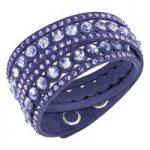 Swarovski Slake Dot Mauve Bracelet, Medium