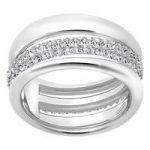 Swarovski Exact Silver Ring, Size 55