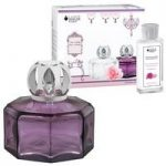 Lampe Berger Secret Violet Lamp and 180ml Timeless Rose Fragrance Set