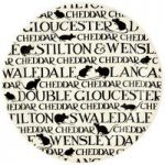 Emma Bridgewater Black Toast All Over Cheese / Cake Plate