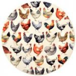 Emma Bridgewater Hen & Toast 6.5″ Side Plate