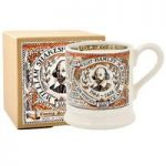 Emma Bridgewater Shakespeare 1/2 Pint Mug Boxed