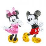 Swarovski Crystal Mickey & Minnie Set